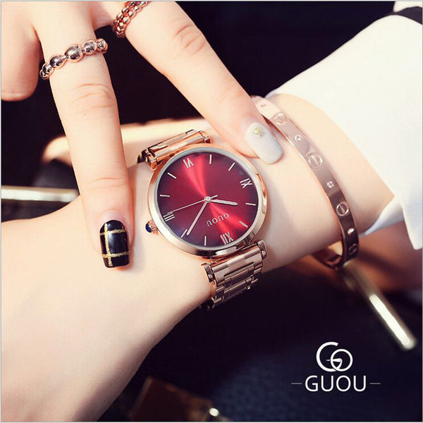 Watches GUOU With LUXURY Bracelet For Women , watch , Tofana , Tofana Fashion and Jewelry -  - Tofana online store