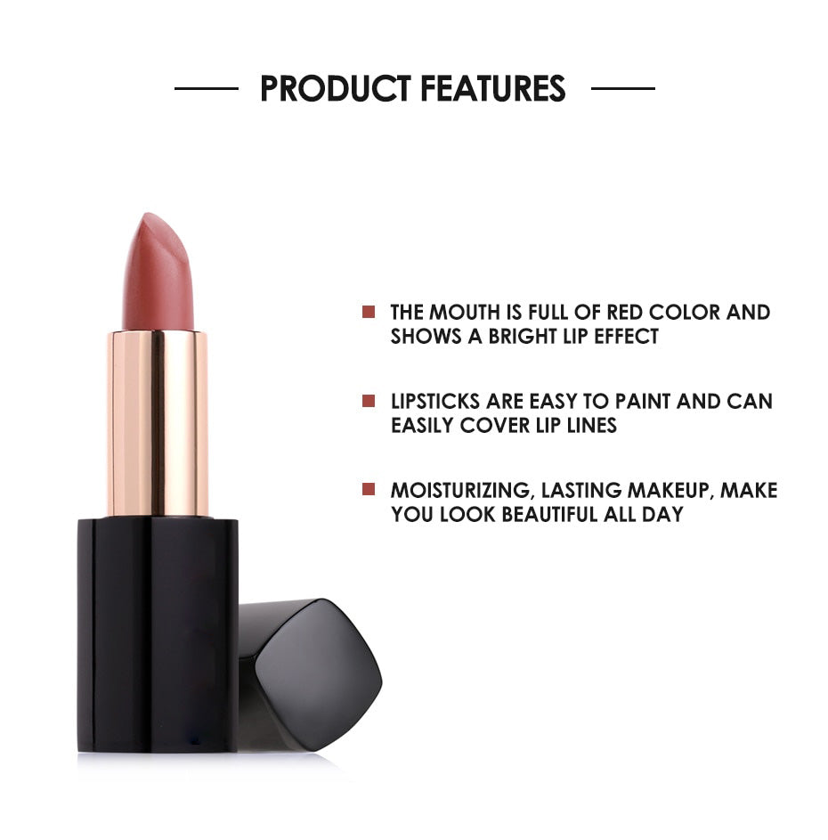 #4 LIGHT CORAL | WATERPROOF VELVET LIPSTICK