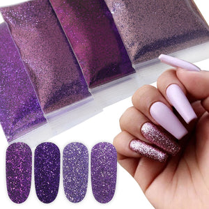 Gradient Shiny Glitter Powder (10g/Bag)