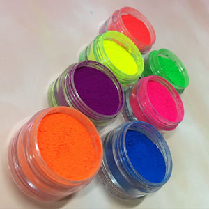 Neon Pigment 6 Color Collection
