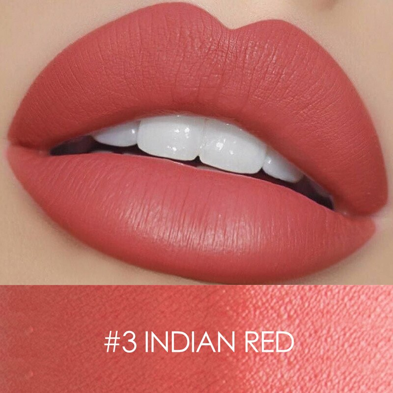 #3 INDIAN RED | WATERPROOF VELVET LIPSTICK