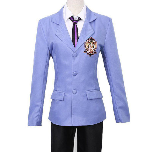Ouran High School Host Club Costume Déguisement Cosplay Costume Suit Haut Uniforme Ensemble