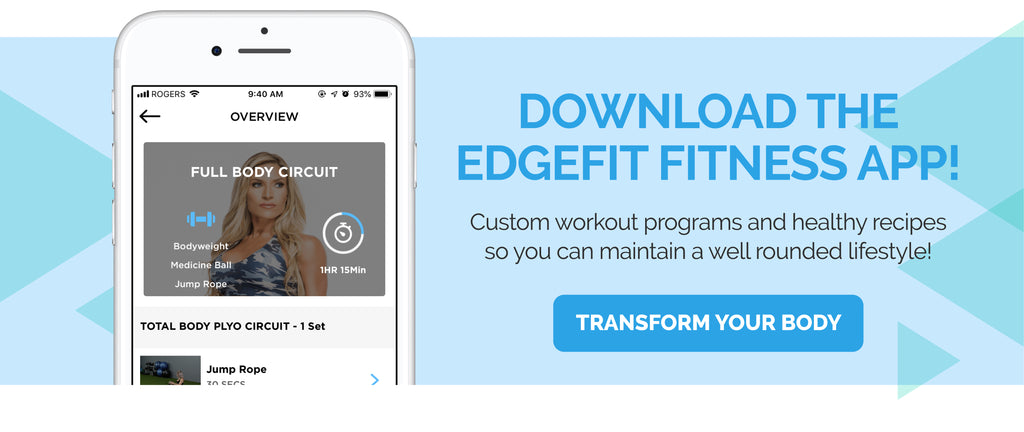 Ingrid Romero EDGE FIT fitness app