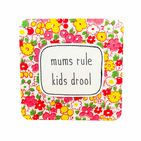 affirmation card . mums rule