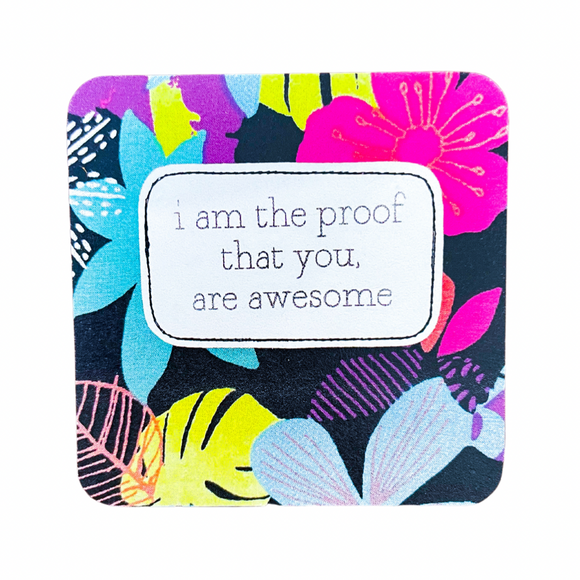 affirmation card . you are awesome