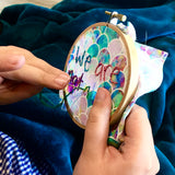 embroidery kit - introductory for kids