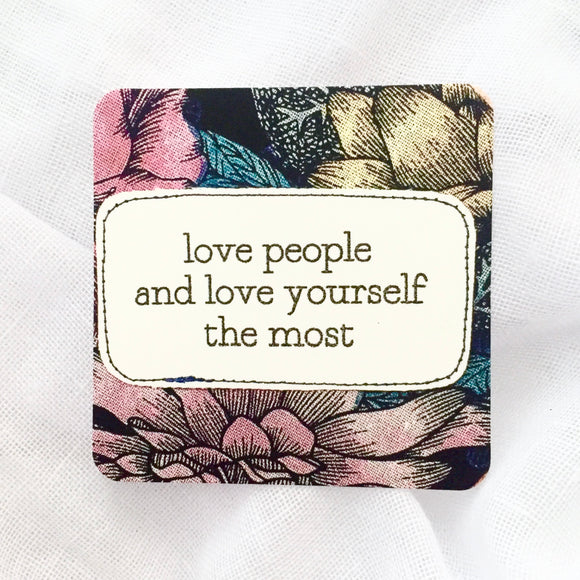 affirmation card . love people .