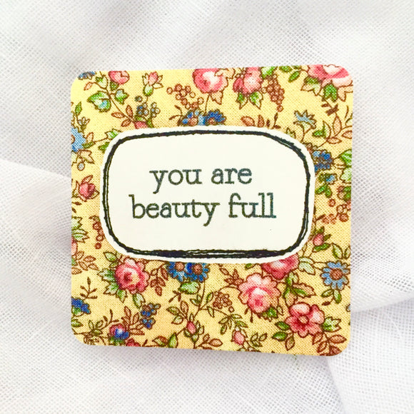 affirmation card . beauty full .