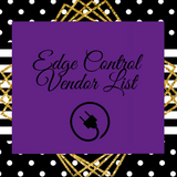 Edge Control Vendor List