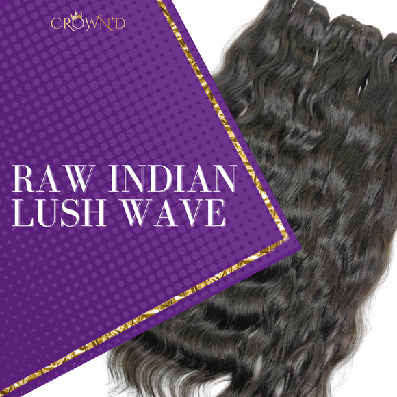 Raw Indian Lush Wave