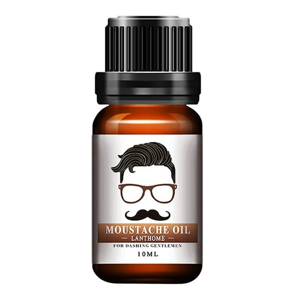 Men Natural Organic Styling Moustache Oil Moisturizing