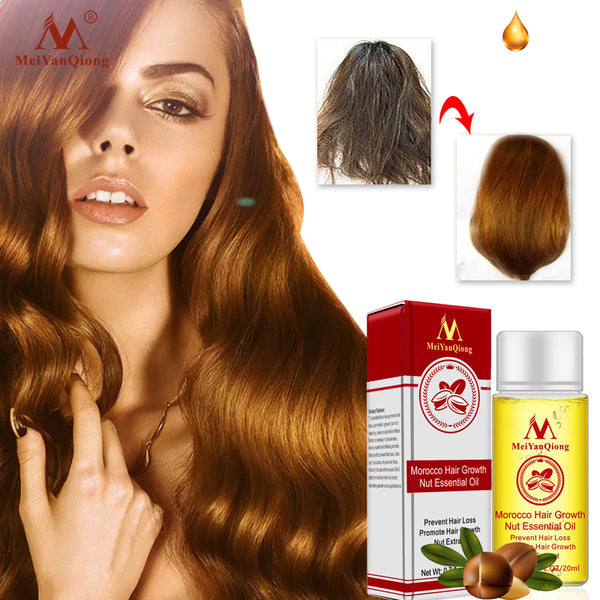 Herbal Nut Hair Care Essence Oil Repair Hair Damage