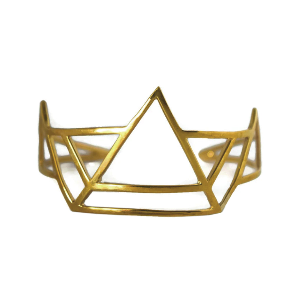 Brass Pinnacle Cuff