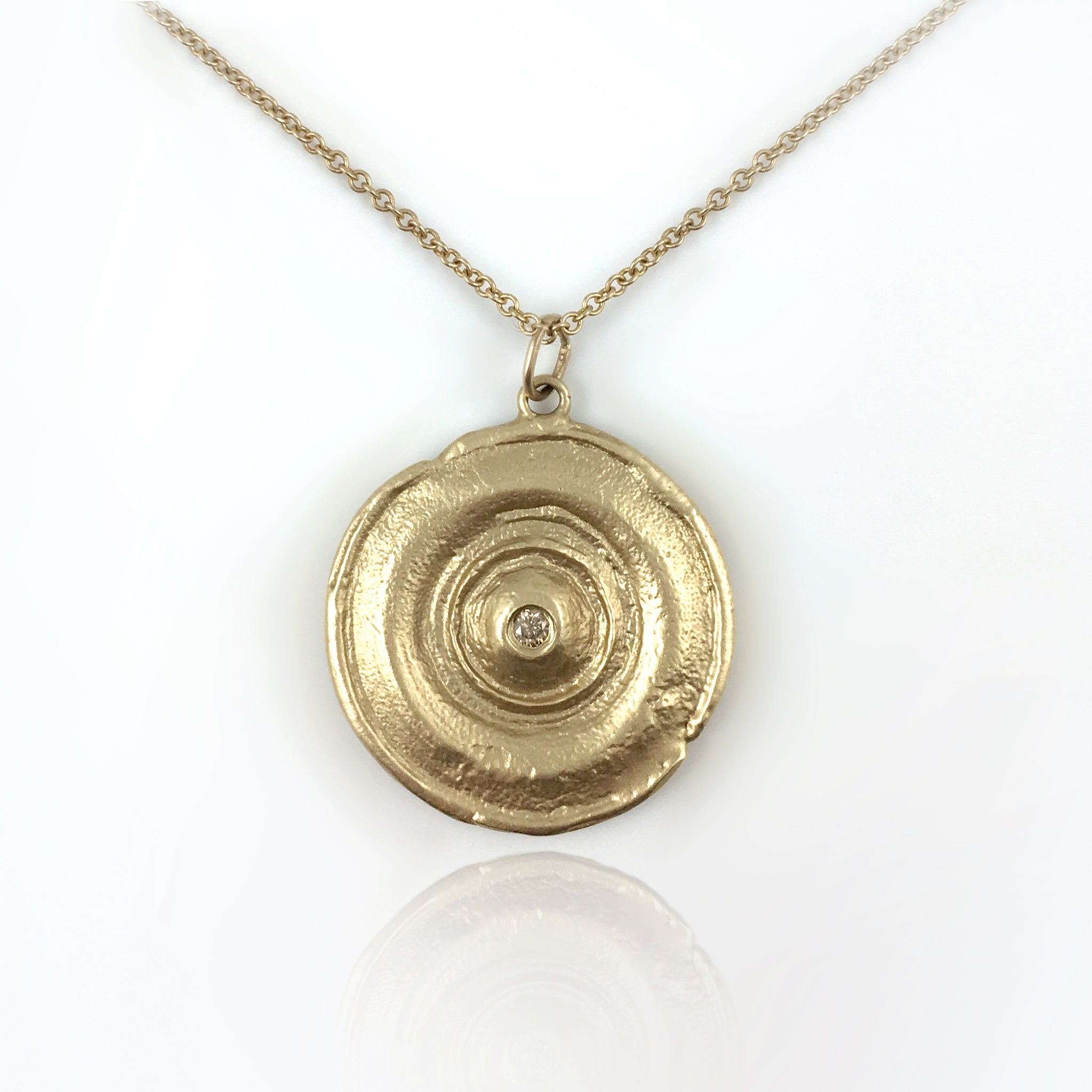Luna Large Disc Pendant