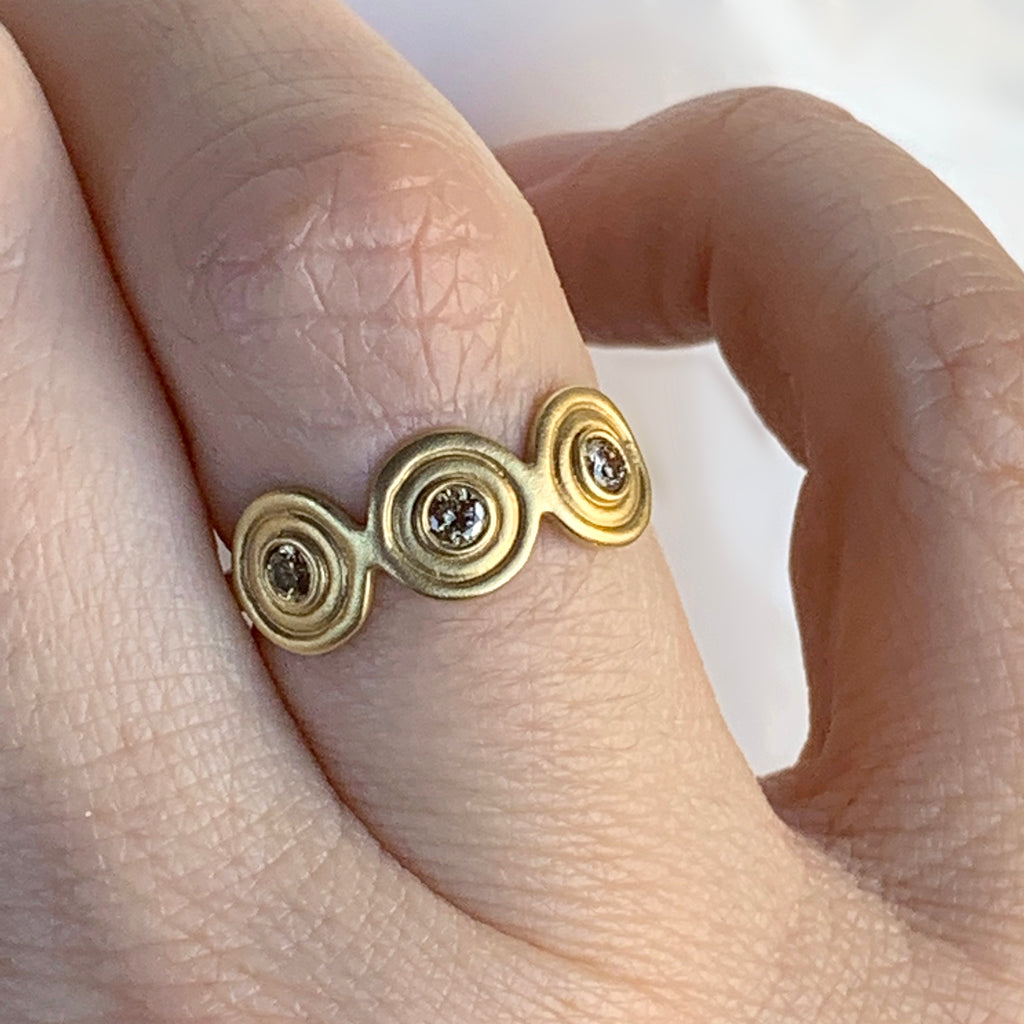Venus 3-Disc Ring