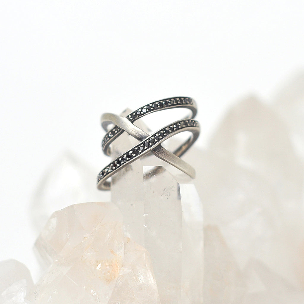 Silver Trilogy Ring