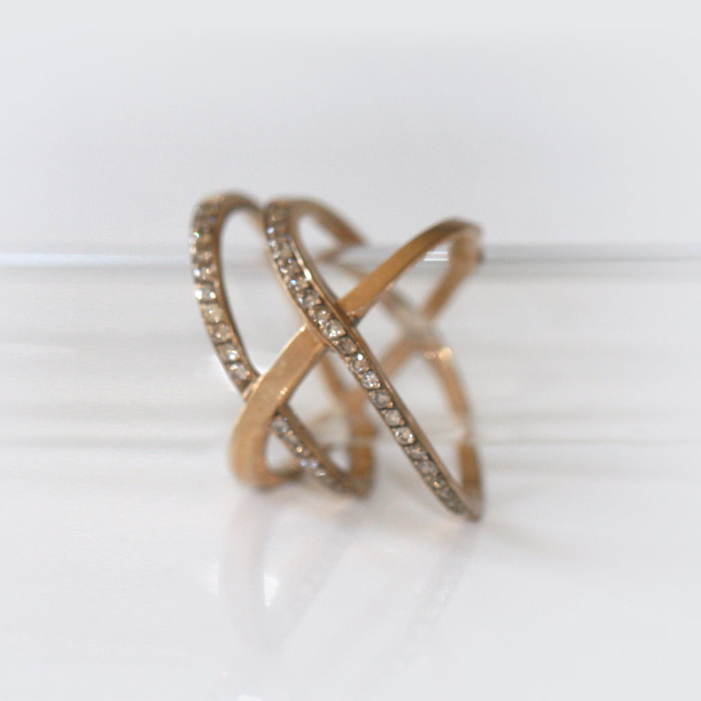 Bronze Trilogy Ring