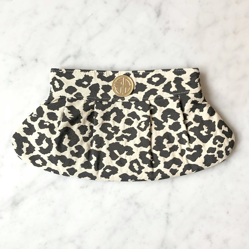 Snow Leopard Clutch