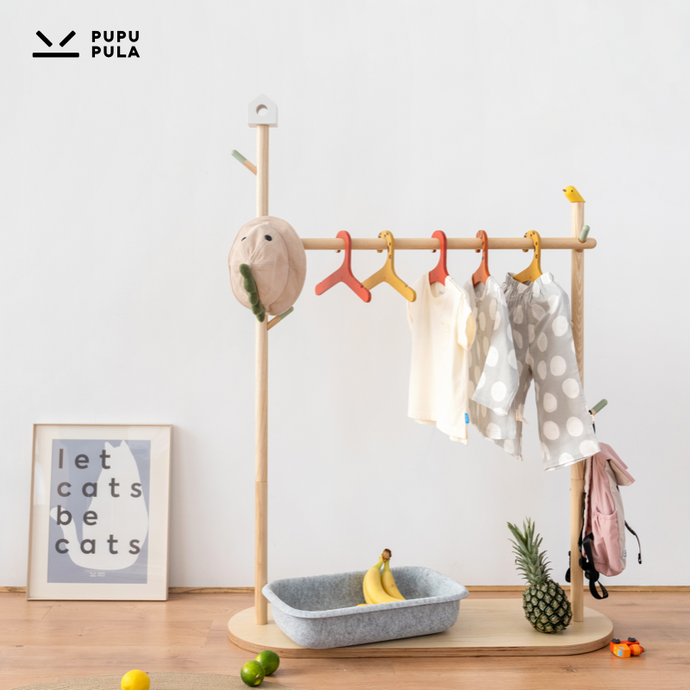 Tree Clothes Rack Unit