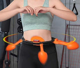 Smart Thin waist ring Auto-Spinning Hoop for Weight Loss,Exercise & Burning Fat