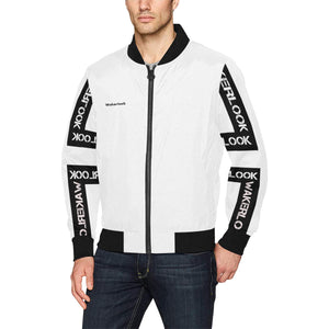 Men's Fashion Wakerlook Print Bomber Jacket