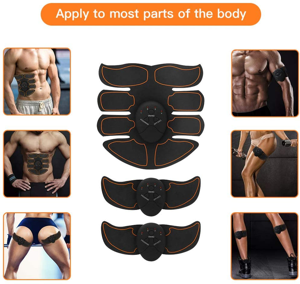 EMS Abs & Glute Trainer & Muscle Stimulator