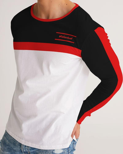 Wakerlook Fashion Men's Long Sleeve Tee
