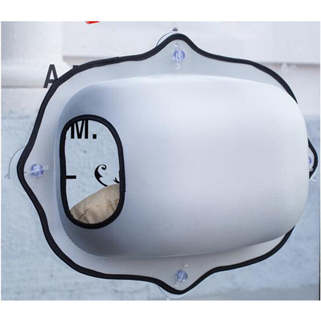 Pet Cat Window Bed Hanging Mats Cat Lounger Warm