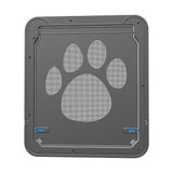 Pet Screen Door Lockable ABS Plastic Pet Cat Dog