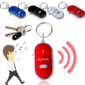 Simply whistle and this key fob will flash LED
