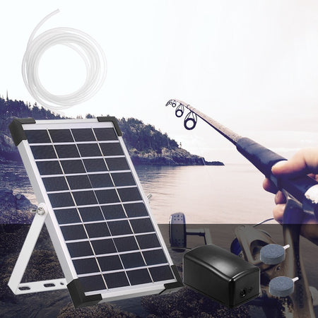 Solar Water Pump Oxygenator Aquarium Oxygen