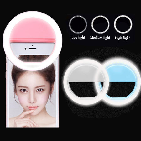 LED Ring Flash Universal Selfie Light