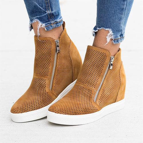 Woman Shoes Casual Breatha bleIncrea sing Women - E.Y.U Store