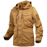 M65 Military Field Jacket Trench Hoodie