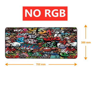 RGB Mouse Pad Gaming Mouse Pad