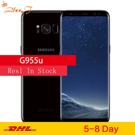 "Samsung Galaxy S8+ S8 Plus G955U Original Unlocked LTE Android Cell Phone Octa Core 6.2"" 12MP RAM 4G ROM 64G Snapdragon 835 NFC - E.Y.U Store"