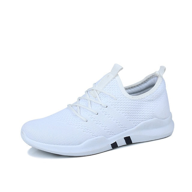 Spring & Summer Fashion Mens Casual Shoes White Lace-Up Breathable Shoes Sneakers basket tennis Mens Trainers Zapatillas Hombre