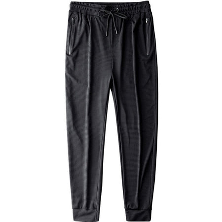Men Pants Ice Cool Casual Breathable - E.Y.U Store