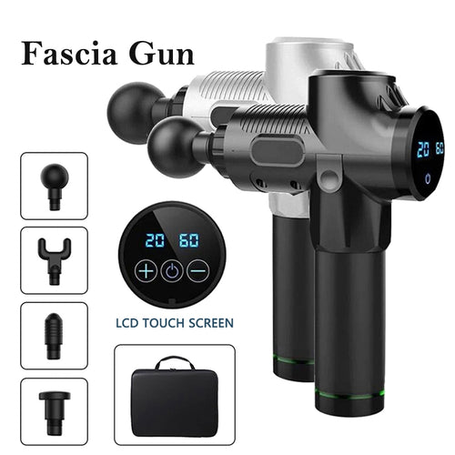 LCD Display Body Massage Gun Exercising
