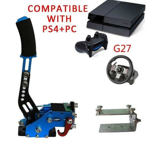 New PS4 PC USB Hand Brake+Clamp For Racing Games G295 G27 G29G920