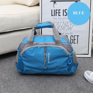 Hot Professional Nylon Waterproof Sports Gym Bag - E.Y.U Store