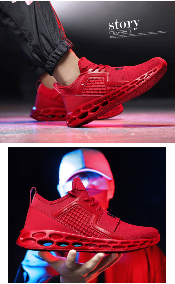 Men's Shoes New for 2020! Men's Sneakers High-quality men shoes Lace-up Breathable Men's Running Sneakers Plus size shoes 39-48