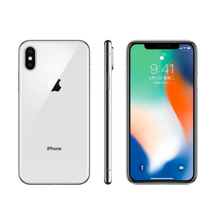 "iPhone X Original Unlocked Apple Smartphones A11 iOS Hexa Face ID RAM 64/256GB Dual Rear Camera 12MP 4G NFC 5.8"" Used Phone - E.Y.U Store"