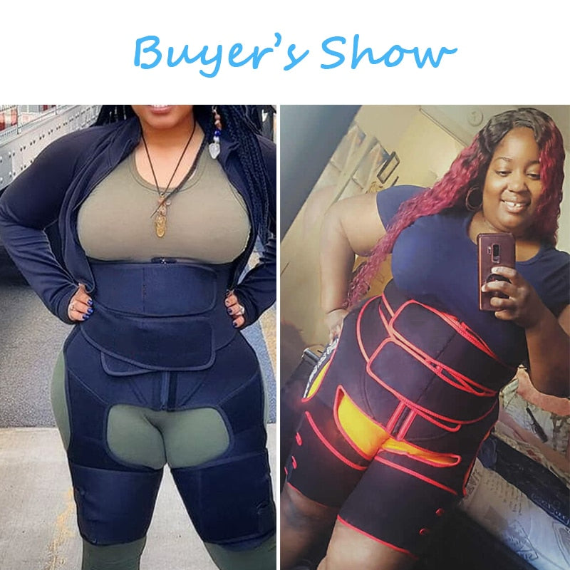 Waist Trainer Thigh Trimmer Leg Shapers - E.Y.U Store