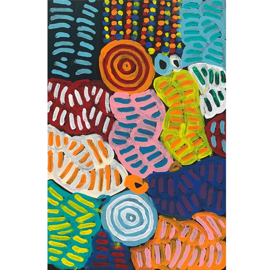 Betty Mpetyane Club - My Mothers Story 45x30cm
