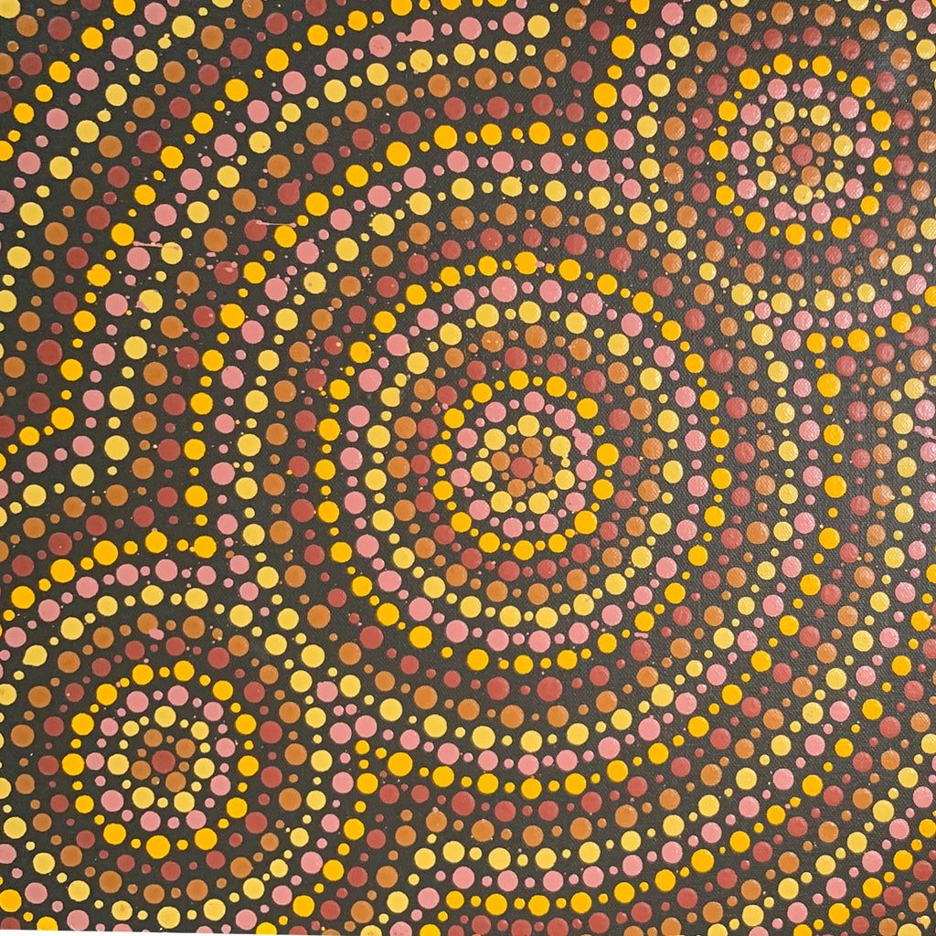 Kara Napangardi Ross - Pamapardu Jukurrpa (Flying Ant Dreaming)