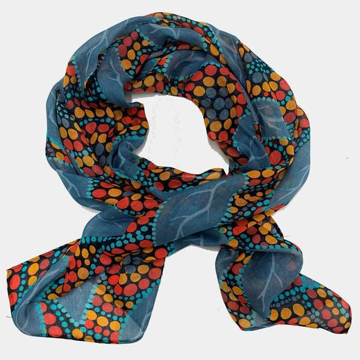 Falling Leaves Modal Scarf