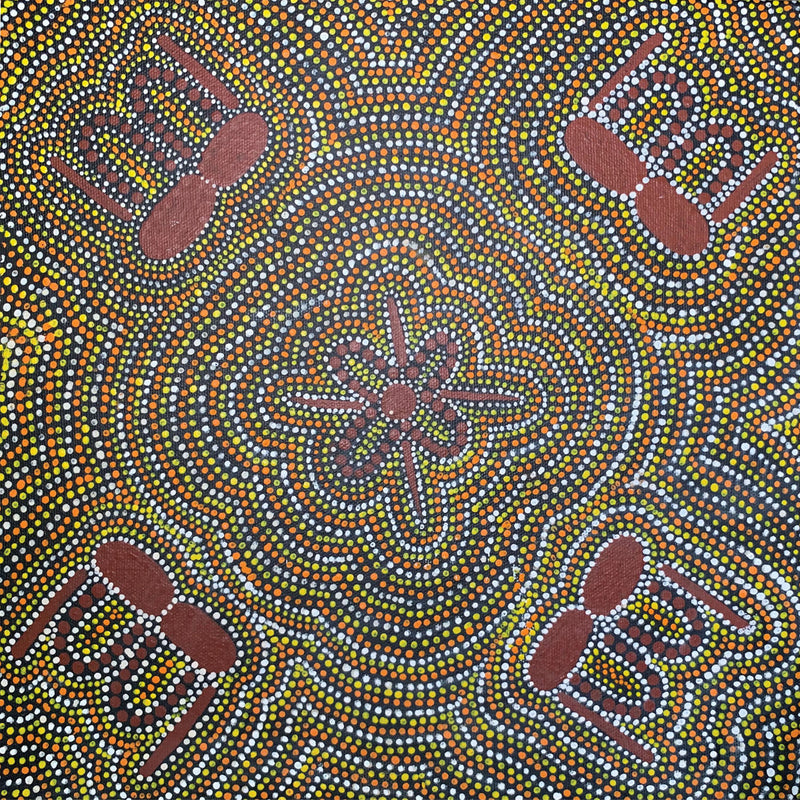May Lewis Pwerle - Awelye Womens Ceremony 30x30cm