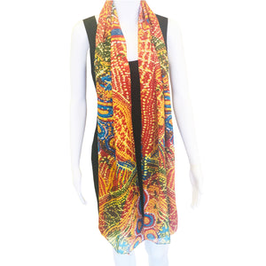 Emu Dance Silk Wrap