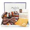 Protective Shield Silk Bow Tie & Pocket Square Set - Mainie Australia